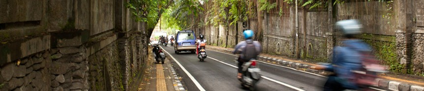 Bikes in Indonesia