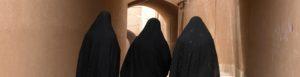 Three women in Iran